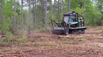 Bull of the Woods, Gyro Trac, Land Clearing, Brush Clearing in Florida, Alabama and Georgia