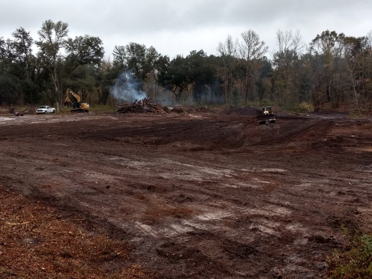 Pasture clearing, land clearing